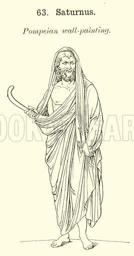 Saturnus. Illustration for Illustrations of School Classics arranged and described by GF Hill (Macmillan, 1903).