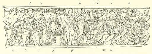 Scenes from the Medea. Illustration for Illustrations of School Classics arranged and described by G F Hill (Macmillan, 1903).