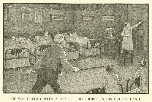 Illustration for Tom Brown's School-Days by Thomas Hughes (Harper, 1911).