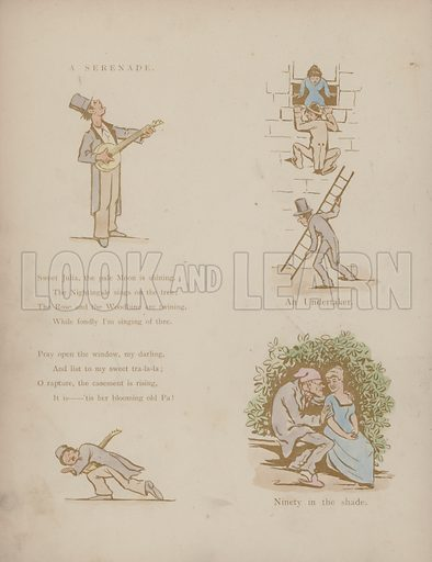 Page from the Humours of Cynicus [ie Martin Anderson] (His Studio, 1891).
