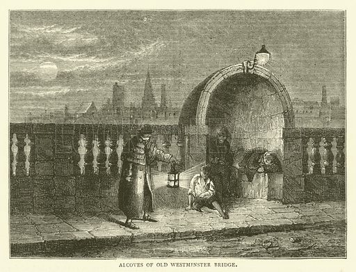 Alcoves of Old Westminster Bridge