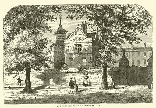The Marylebone School-House in 1780