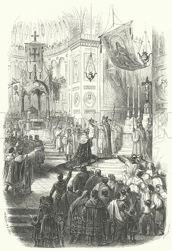 Coronation of Baldwin I as Lat...