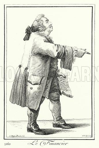 The Financier. Illustration for Kulturgeschichtliches Bilderbuch aus drei Jahrhunderten by Georg Hirth (Leipzig and Munchen, 1881-90).