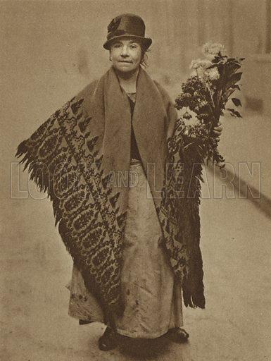 London flower girl