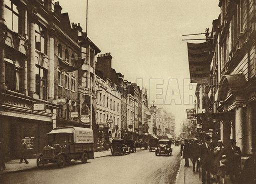 Looking south in New Bond Street