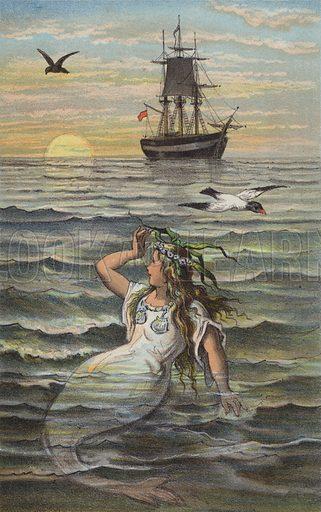 The Little Mermaid, The Sea Was Calm