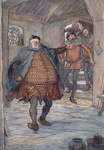 Illustration for The Merry Wives of Windsor