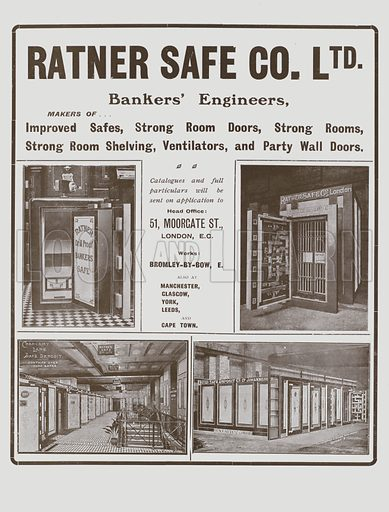 Ratner Safe Co Ltd - Look and Learn History Picture Library