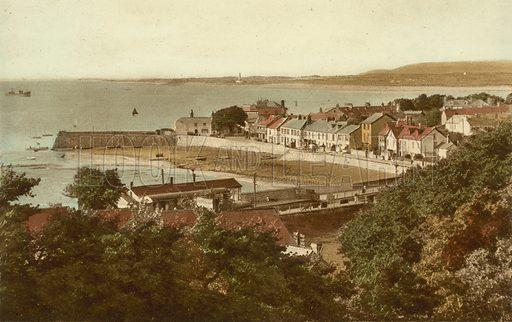 Instow. Illustration for Beauty Spots of North Devon (Photochrom, c 1910).