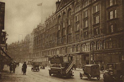 Brompton Road, Knightsbridge, 1926