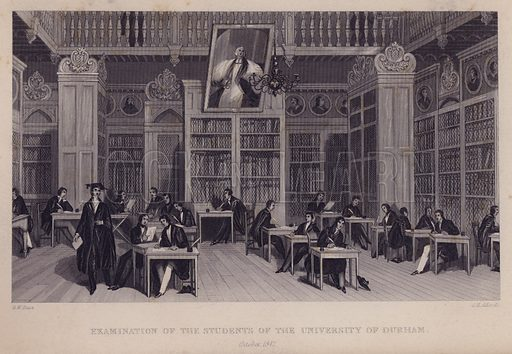 Examination of the students of the University of Durham, October 1842.