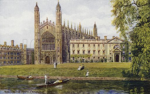 Cambridge: King's College Chapel