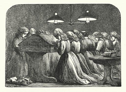 Evening Prayer at a Girls' School