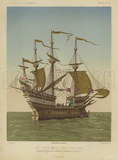 Great ship of King Henry VIII of England, 1520