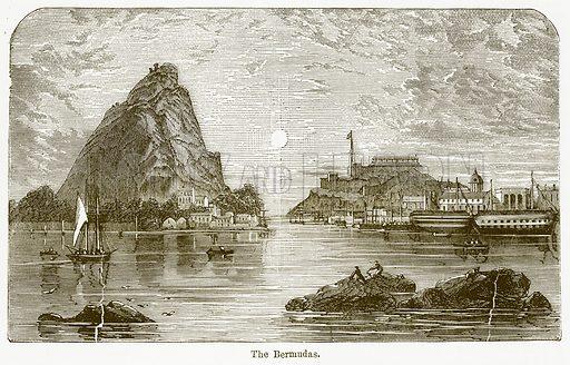The Bermudas. Illustration from The National Encyclopaedia (William Mackenzie, c 1900).