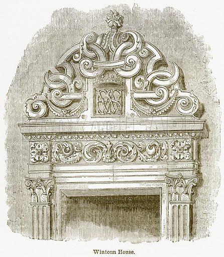 Wintoun House. Illustration from The National Encyclopaedia (William Mackenzie, c 1900).