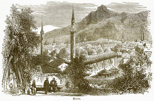 Brusa. Illustration from The National Encyclopaedia (William Mackenzie, c 1900).
