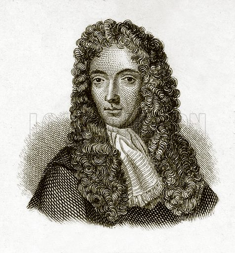 Robert Boyle. Illustration for The Universal Historical Dictionary by George Crabb (Baldwin, 1825).