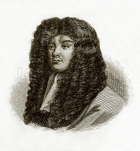 Sir Peter Lely.  Illustration for The Universal Historical Dictionary by George Crabb (Baldwin, 1825).