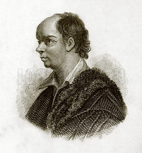 Goldsmith. Illustration for The Universal Historical Dictionary by George Crabb (Baldwin, 1825).