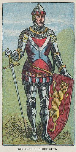 The Duke of Gloucester.  Illustration for the weekly magazine Boys of the Empire (Edwin Brett, 1888).