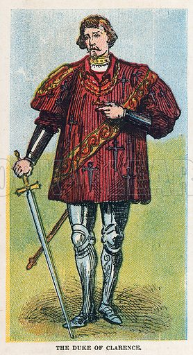 The Duke of Clarence.  Illustration for the weekly magazine Boys of the Empire (Edwin Brett, 1888).