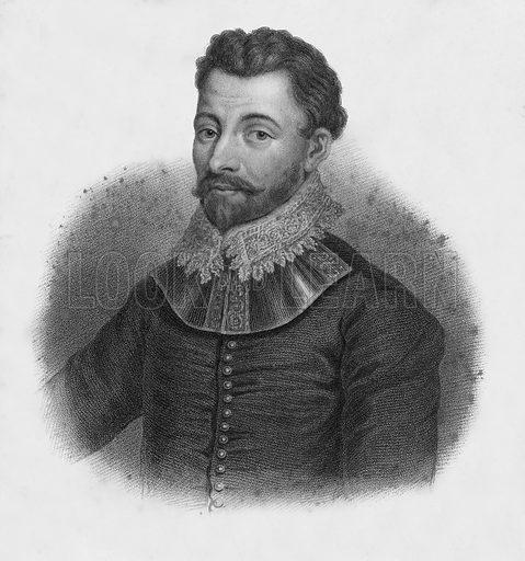 Sir Francis Drake. Illustration for Lives of Eminent and Illustrious Englishmen edited by G G Cunningham (Fullarton, c 1830).