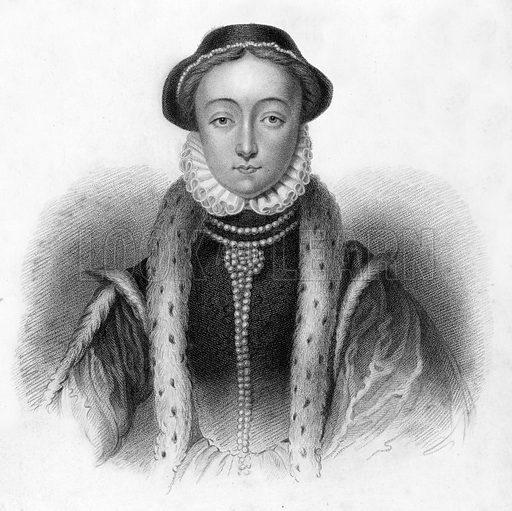 Lady Jane Grey. Illustration for Lives of Eminent and Illustrious Englishmen edited by G G Cunningham (Fullarton, c 1830).