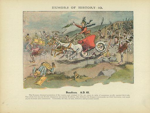 picture, Arthur Moreland, cartoon, Boadicea, illustrator, artist