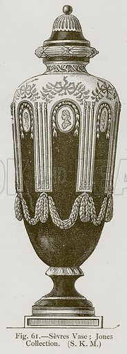 Sevres Vase; Jones Collection. Illustration for Historic Ornament by James Ward (Chapman and Hall, 1897).