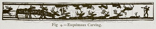Esquimaux Carving. Illustration for Historic Ornament by James Ward (Chapman and Hall, 1897).