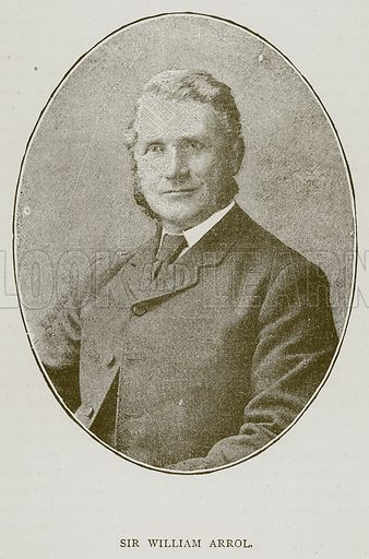 Sir William Arrol. Illustration for Great Engineers by J F Layson (Walter Scott, c 1880).