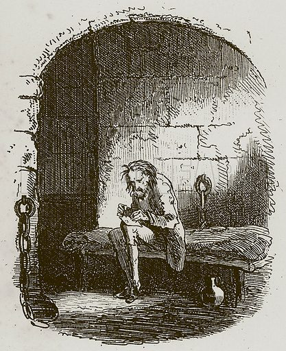 A Tale of Two Cities. Illustration for A Tale of Two Cities by Charles Dickens (Chapman & Hall, 1892).