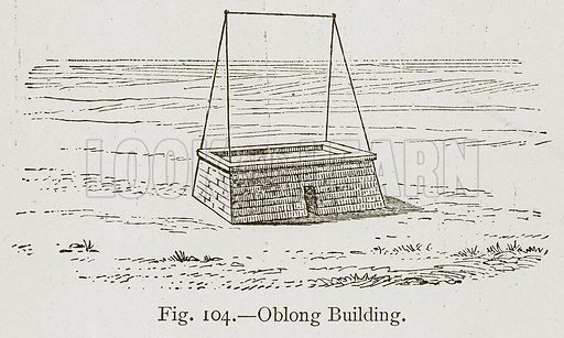 Oblong Building. Illustration for Historic Ornament by James Ward (Chapman and Hall, 1897).