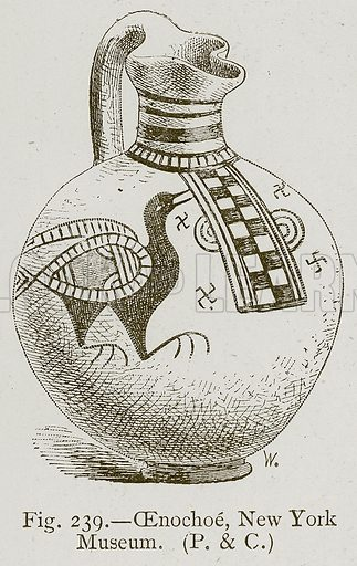 Cenochoe, New York Museum. Illustration for Historic Ornament by James Ward (Chapman and Hall, 1897).