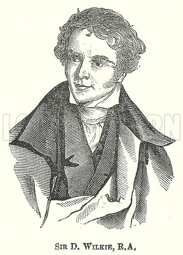Sir D. Wilkie, R.A. Illustration for The Pictorial History of England (W & R Chambers, 1858).