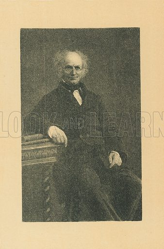 Rev Francis Mahony. Illustration for The Maclise Portrait Gallery of Illustrious Literary Characters by William Bates (Chatto and Windus, 1896).