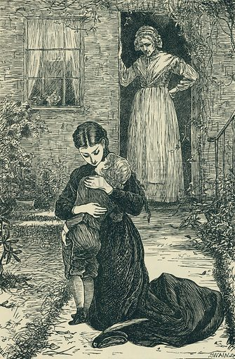 The Boy of Norcott's. The Cornhill Magazine, 1868. From Illustrators of the Sixties by Forrest Reid (Faber, 1928).