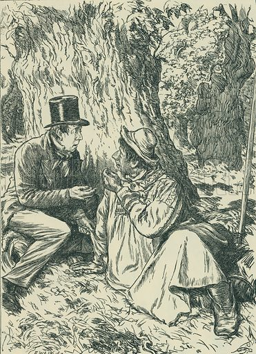 Brother Jacob. The Cornhill Magazine, 1864. From Illustrators of the Sixties by Forrest Reid (Faber, 1928).