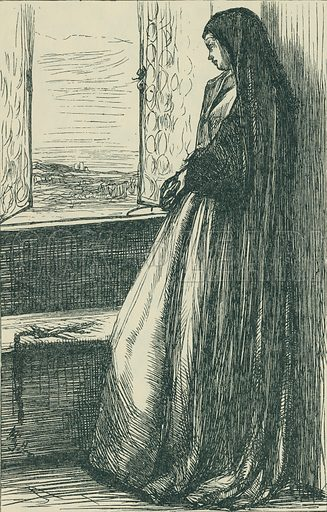 Count Burkhardt. Once a Week, 1862. From Illustrators of the Sixties by Forrest Reid (Faber, 1928).