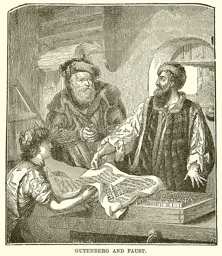 Gutenberg and Faust