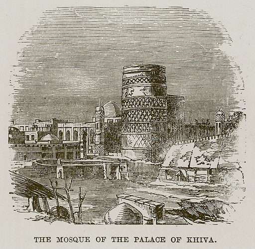 The Mosque of the Palace of Khiva. Illustration for The Life and Times of The Marquis of Salisbury by S H Jeyes (Virtue, c 1895).