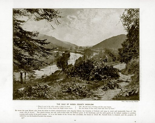 The Vale of Avoca, County Wicklow. Photograph from The Queen's Empire (Cassell, 1899).
