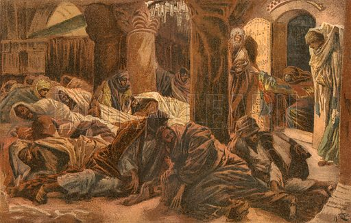 """""""They have taken away the Lord!"""" Illustration for The Life of Our Saviour Jesus Christ (Sampson Low, c 1897)."""
