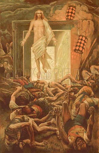 The Resurrection. Illustration for The Life of Our Saviour Jesus Christ (Sampson Low, c 1897).
