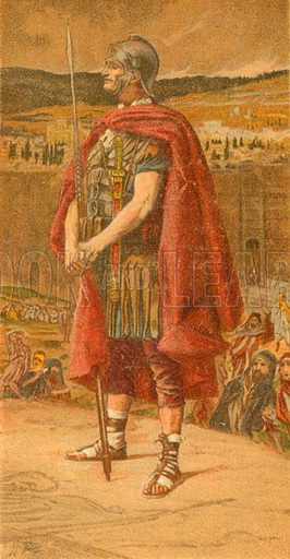 The Centurion. Illustration for The Life of Our Saviour Jesus Christ (Sampson Low, c 1897).