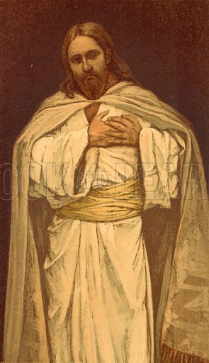 Our Lord Jesus Christ. Illustration for The Life of Our Saviour Jesus Christ (Sampson Low, c 1897).