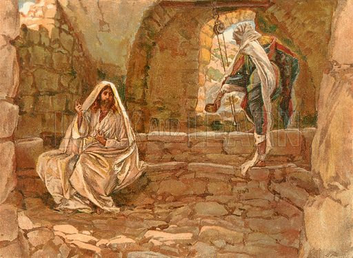 The Woman of Samaria at the Well. Illustration for The Life of Our Saviour Jesus Christ (Sampson Low, c 1897).