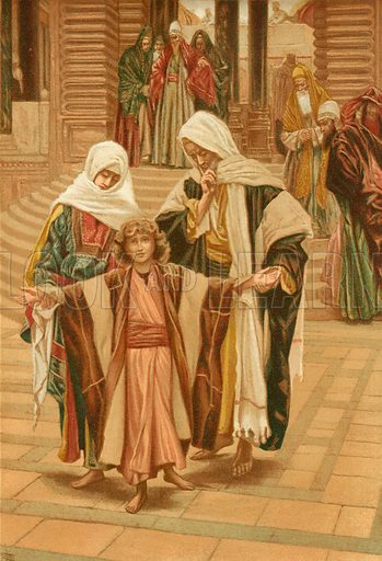 Jesus Found. Illustration for The Life of Our Saviour Jesus Christ (Sampson Low, c 1897).